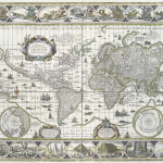 Willem Blaeu · «Nova totius terrarum orbis geographica ac hydrographica tabula»